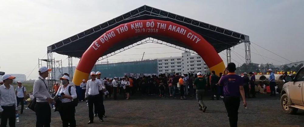 Lễ động thổ dự án Akari City