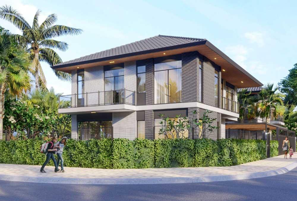 Với mẫu dự kiến 14 Grand Villa sẽ có kích thước đất khoảng 25mx19m và diện tích đất khoảng 475m2.