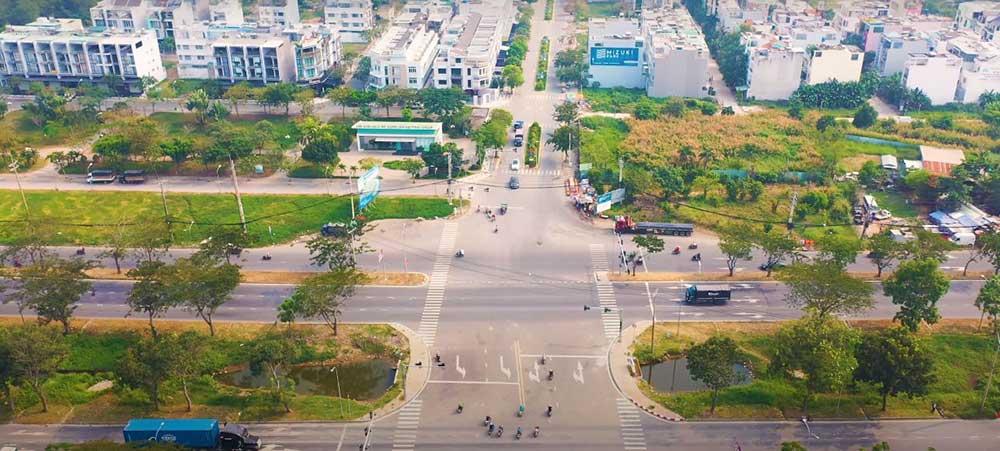 Ngả 3 Mizuki Park với Nguyễn Văn Linh thông xe cuối 2019