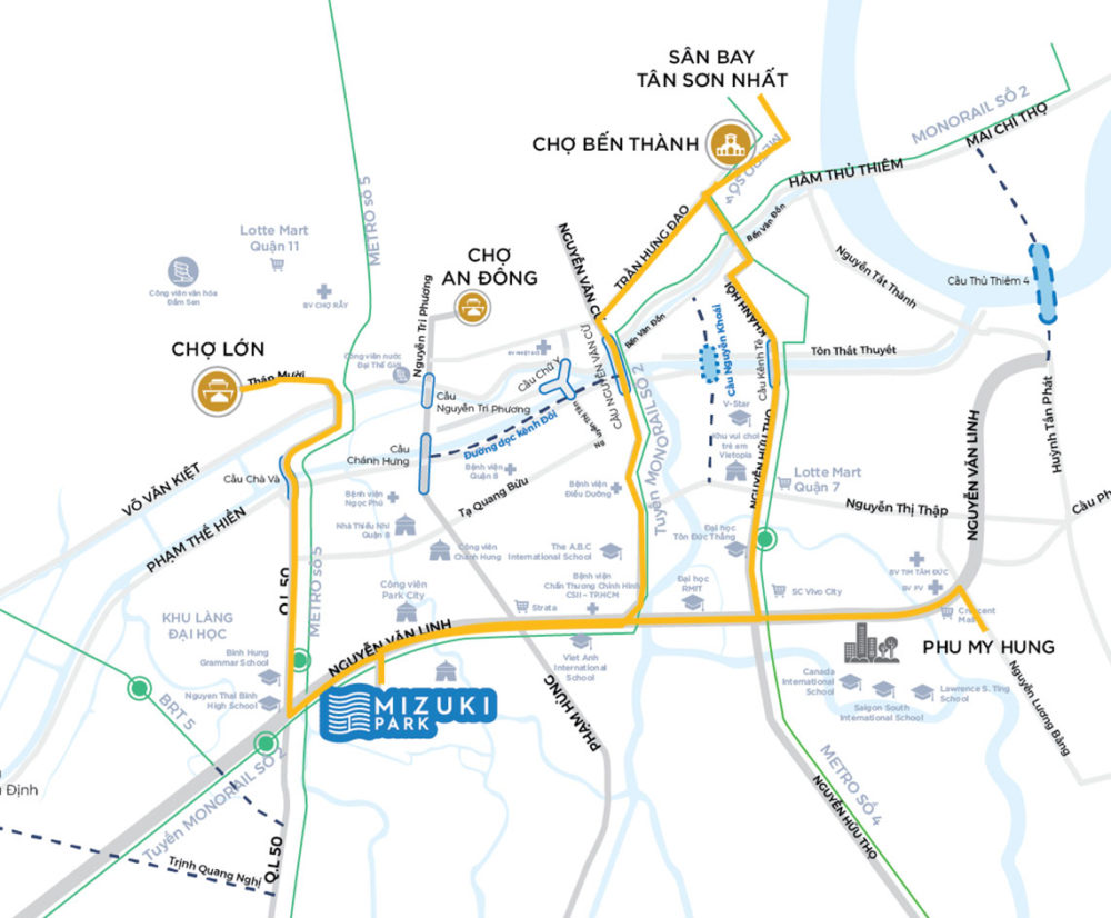 mizuki park map