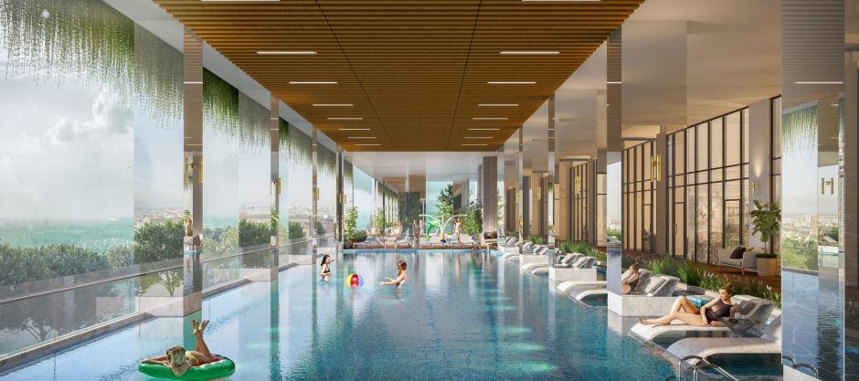 Hồ Bơi Resort Đẳng Cấp Tại Dự Án Ricca