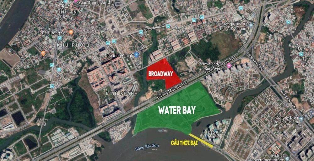 Water Bay đường Mai Chí Thọ Quận 2