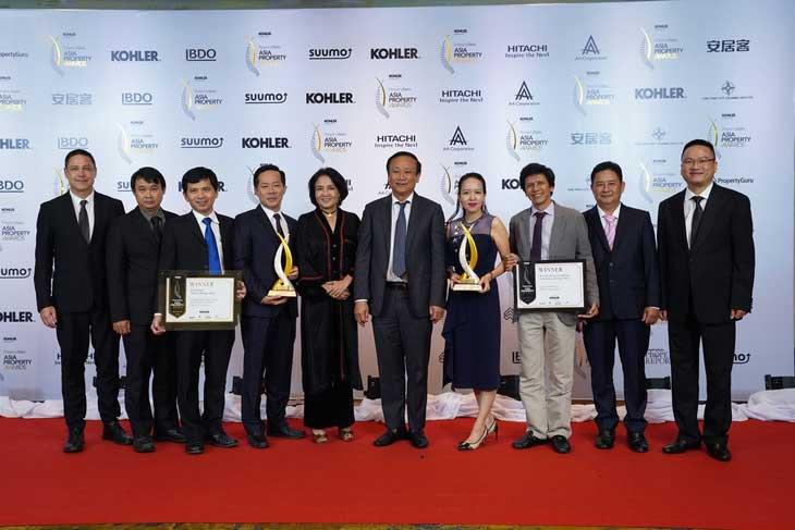 KIẾN Á vinh danh tại giải thưởng Asia Property Awards 2018