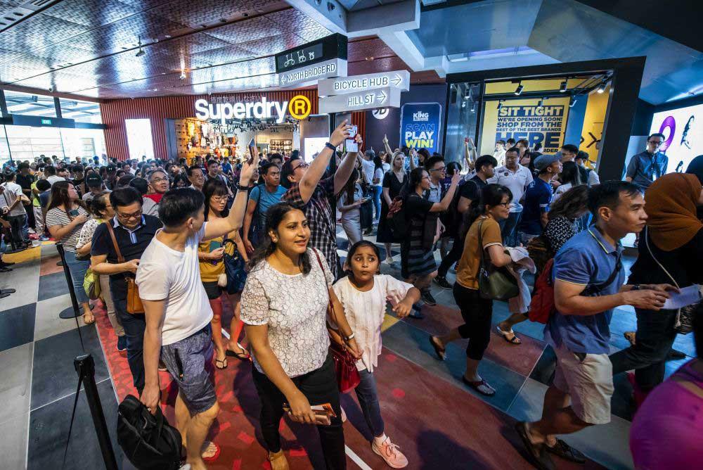 Khai trương khu thương mại Funan Singapore