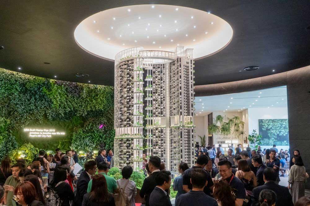 Mở bán One Pearl Bank Singapore vào tháng 7/2019