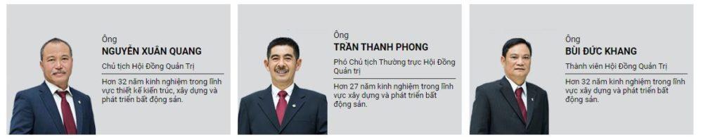 Ban lãnh đạo Nam Long