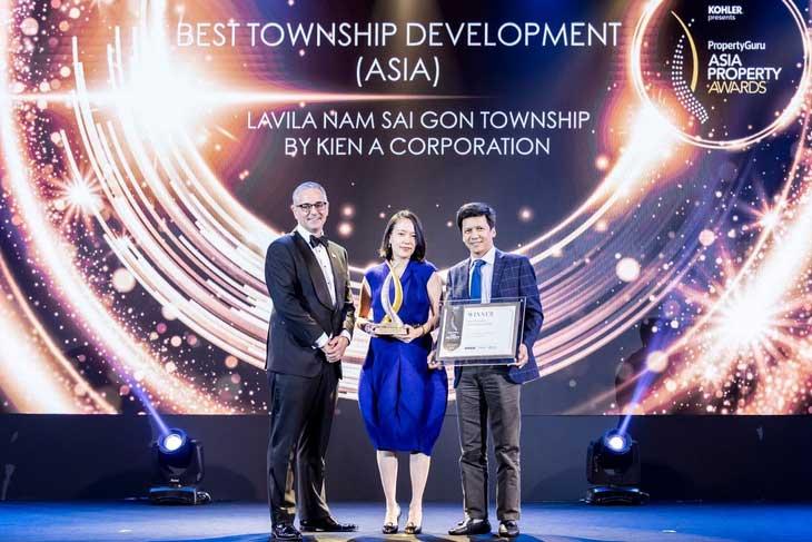 Giải thưởng Best of the best châu Á tại Asia Property Awards 2019