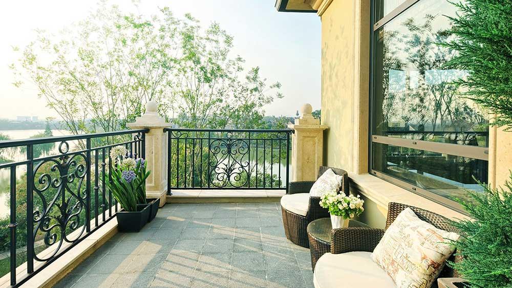 View nhìn từ biệt thự Lavila Nam Sài Gòn