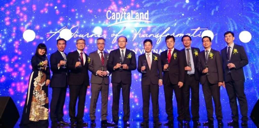 CapitaLand 25 năm phát triển