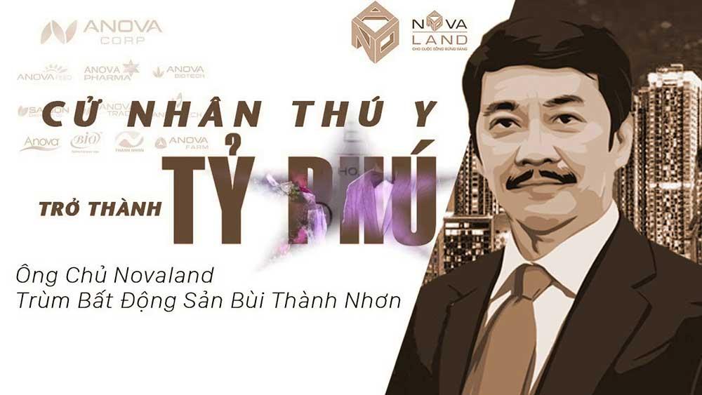 Chủ tịch Novaland Bùi Thành Nhơn