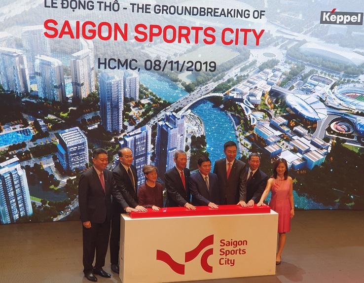 Lễ động thổ Saigon Sport City