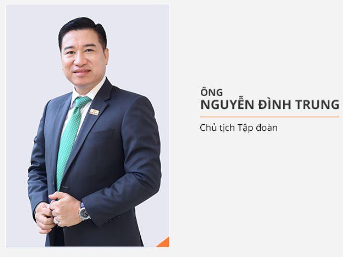 Chủ tịch tập đoàn Hưng Thịnh - Nguyễn Đình Trung