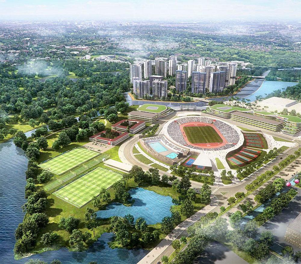 Phối Cảnh Tổng Thể Saigon Sport City