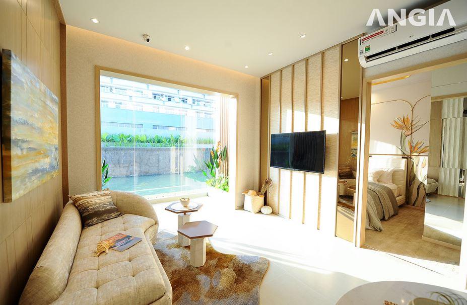Căn hộ mẫu 2 phòng ngủ Westgate