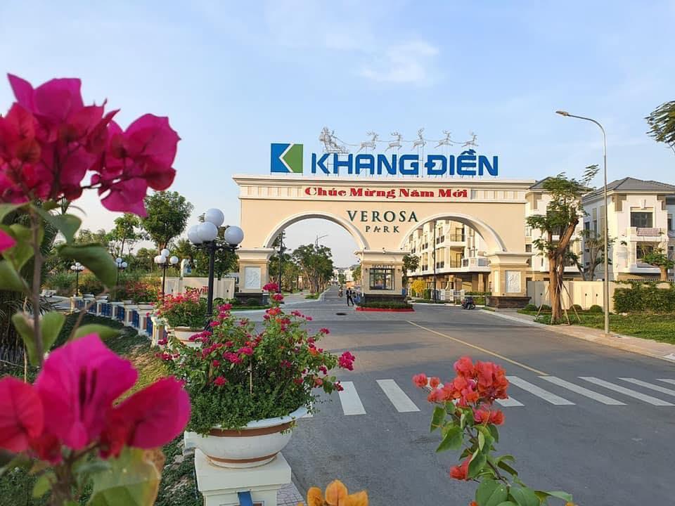 Cổng Chào Verosa Park Khang Điền Quận 9