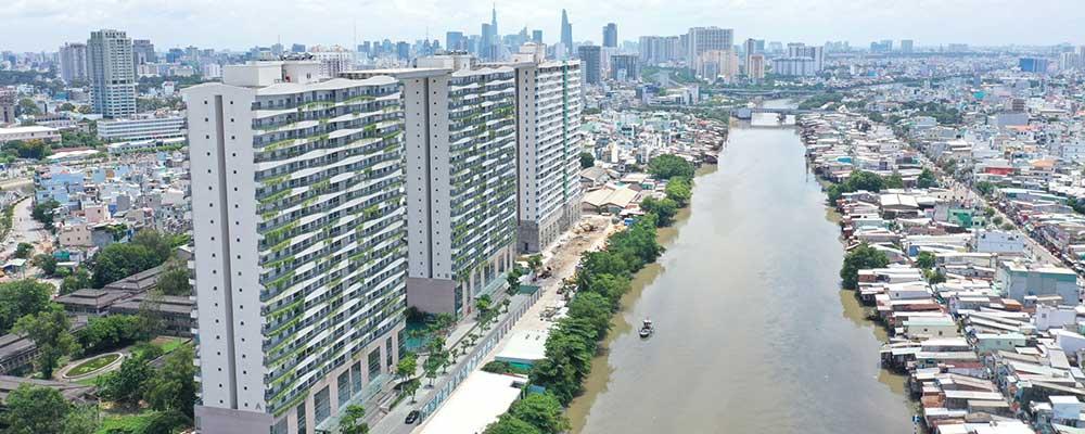 Dự án Diamond Lotus Riverside Quận 8 - PHÚC KHANG