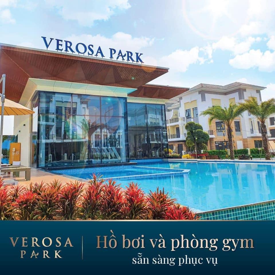 Hờ bơi và phòng Gym tại Verosa Park