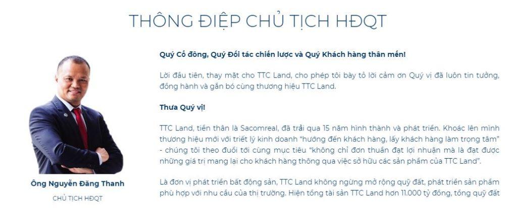 Nguyễn Đăng Thanh - Chủ tịch HĐQT