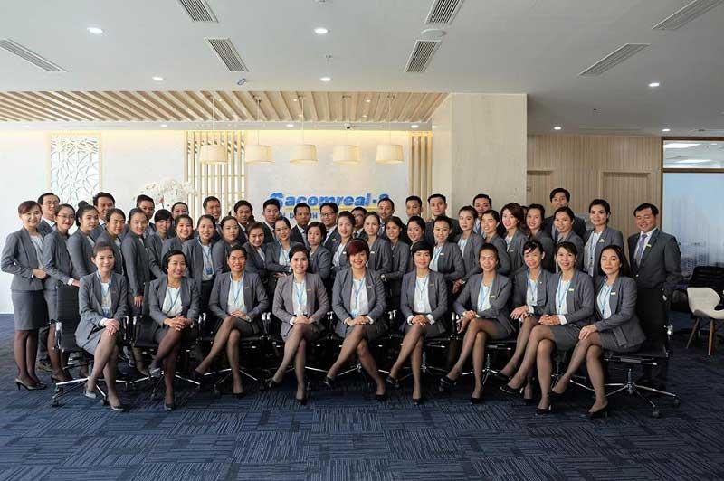 Đội ngũ nhân viên kinh doanh TTC Land