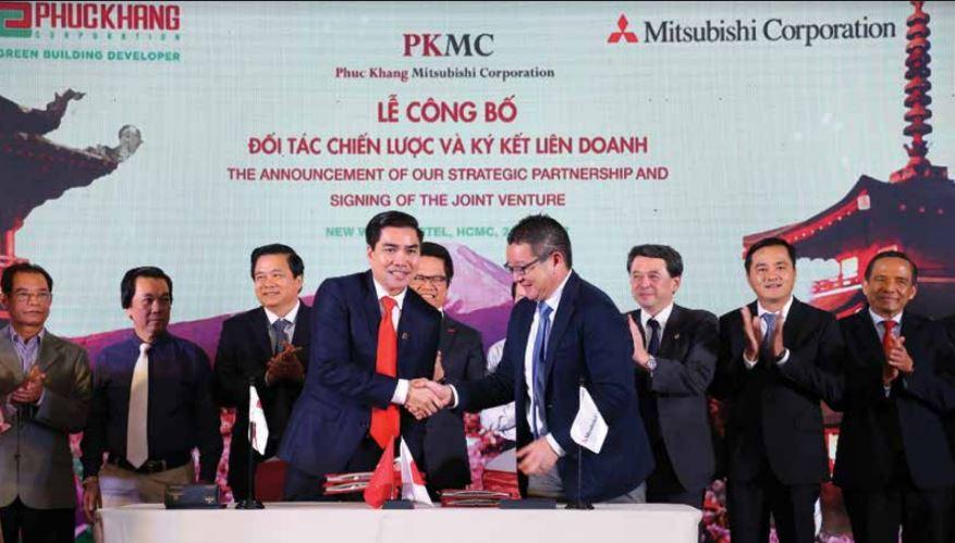 Ký kết liên doanh giữa Phúc Khang và Mitsubishi