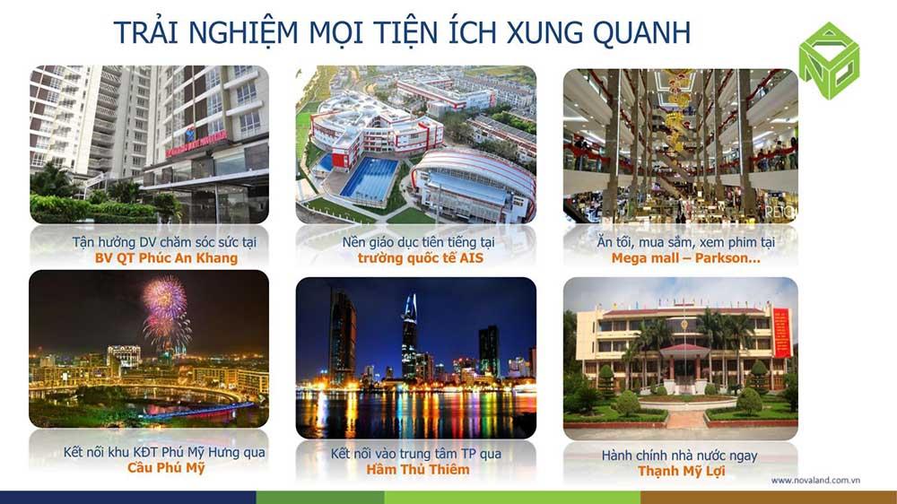 Tiện ích ngoài khu Sài Gòn Broadway