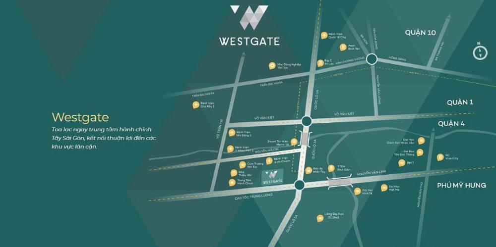 Giao thông thuận lợi, hạ tầng hoàn chỉnh tại Westgate