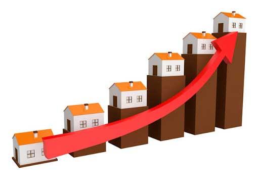 Giá nhà đất tăng giảm dựa vào thị trường