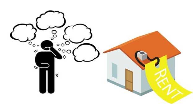 Số tiền đặt cọc thuê nhà tùy thuộc vào giá trị của ngôi nhà
