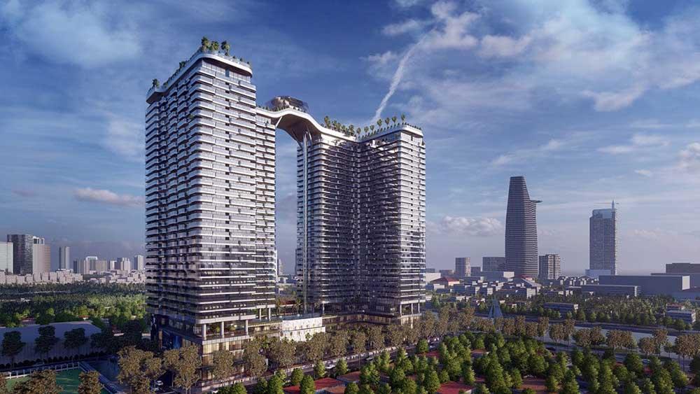 Phối cảnh dự án căn hộ