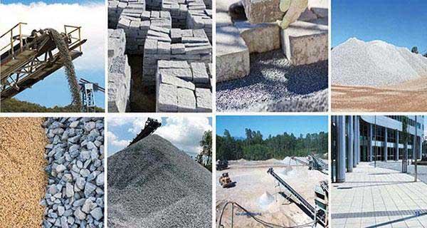 Có nhiều loại vật liệu xây dựng khác nhau.