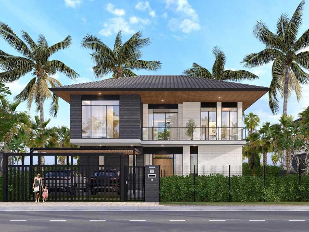 Riverfront Grand Villa mẫu dự kiến